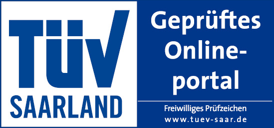 TÜV Saarland - Geprüftes Onlineportal