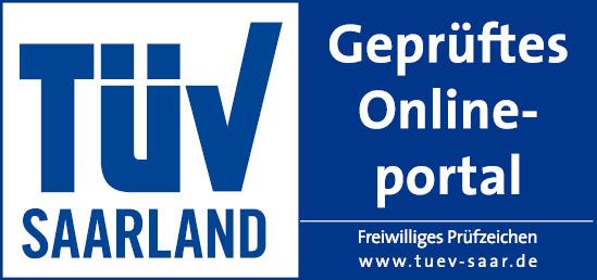TÜV Saarland - Geprüftes Onlineportal