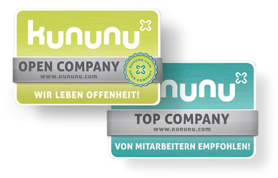 kununu Open & Top Company Siegel