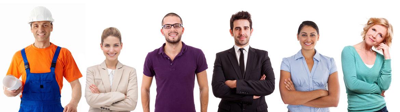 Wir repräsentieren eine Vielzahl von Arbeitgebern aus unterschiedlichsten Branchen.