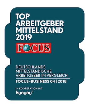 Focus KMU Top Arbeitgeber