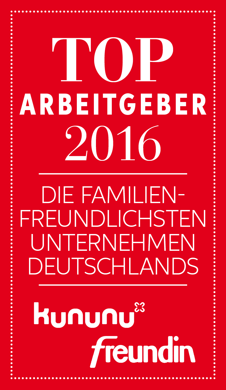 Die familienfreundlichsten Unternehmen Deutschlands