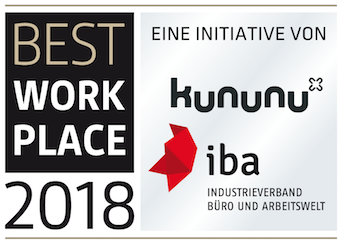 IBA Best Workplace Award 2018