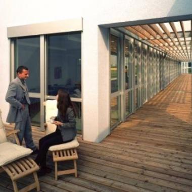 Dachterrasse am Casino (Lounge & Pausenbereich)