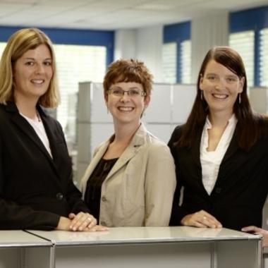 Im Team stehen wir Ihnen für alle Fragen rund um Karriere und Beruf zur Verfügung.