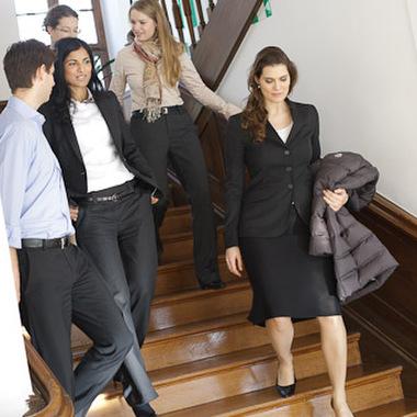 Programm für High Potentials - einige der Vorstandsassistenten der Allianz