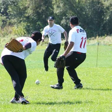 Unser Baseballteam im Einsatz