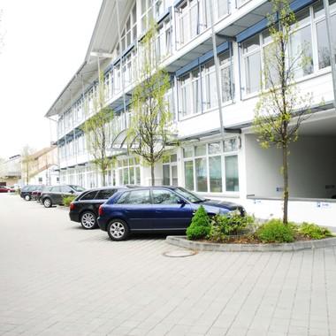 Unser Bürogebäude von außen