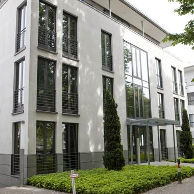 Hauptsitz der Allgeier Productivity Solutions in Düsseldorf Benrath
