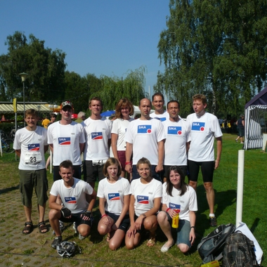 Teamwork: SMA Triathlon-Mannschaft