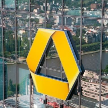 Commerzbank Zentrale in Frankfurt - unser Logo