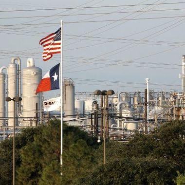 Unser Verbundstandort in Freeport, Texas, USA.