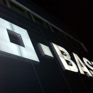 Unser Logo bei Nacht.