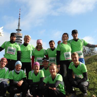 Unter den Eurotours Mitarbeitern finden sich viele begeisterte Sportler. Hier beim München-Marathon 2011