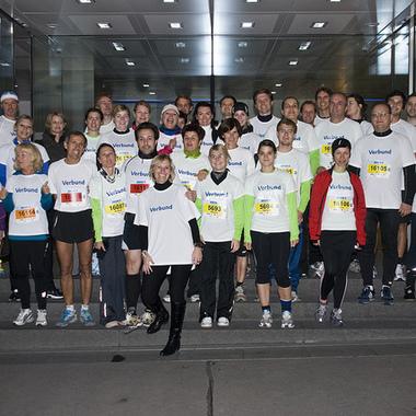 VERBUND-Team beim Vienna Night Run 2011