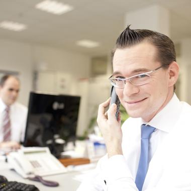 Offene Kommunikation prägt den Arbeitsalltag bei peiker.