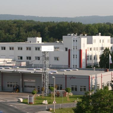 Firmenzentrale mit Verwaltung und Produktion in Friedrichsdorf/Taunus.