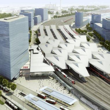 Gesamtprojekt Hauptbahnhof Wien