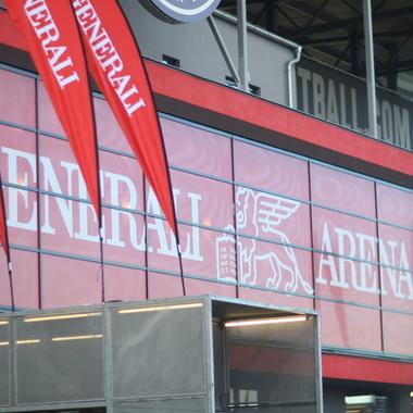 Heimstätte des FK Austria Wien: Die Generali Arena.