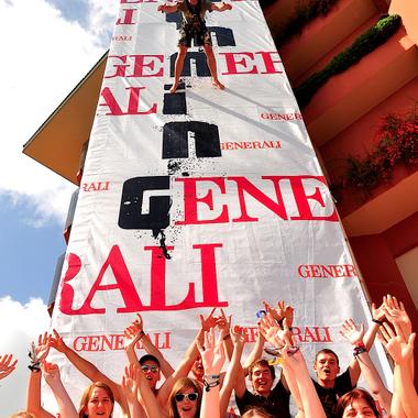 Generali bei Summersplash - Österreichs größte Maturareise.