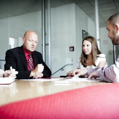 Daily business bei der Generali: Arbeiten im Team.