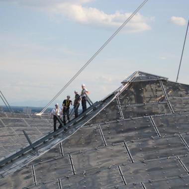 Reizvolle Perspektiven bietet nicht nur das Dach des Olympiastadions in München - auch bei ITK wird so Einiges geboten.
