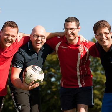Sport treiben mit Kollegen - Nichts Ungewöhnliches bei ITK