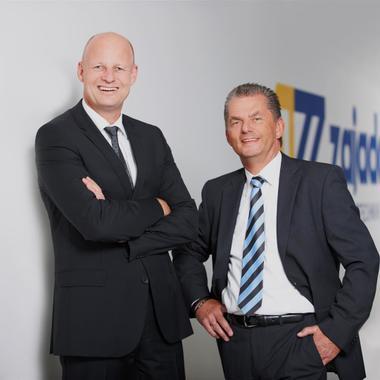 Unsere Geschäftsführer - die Architekten des Erfolges. Ralf Moormann (li) und Detlef Ploew.