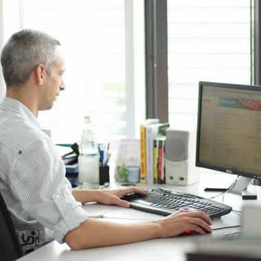 Für die Zufriedenheit unserer Kunden arbeiten alle Abteilungen eng zusammen.