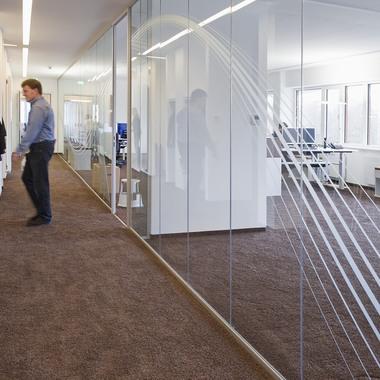 Einblick in die Unternehmenszentrale