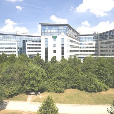 Unternehmenszentrale in Frankfurt