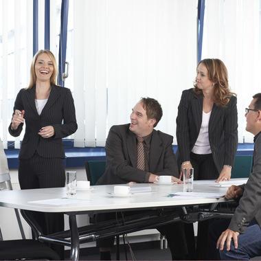 In unseren Besprechungsräumen ist Platz für viel Austausch mit Kolleginnen und Kollegen