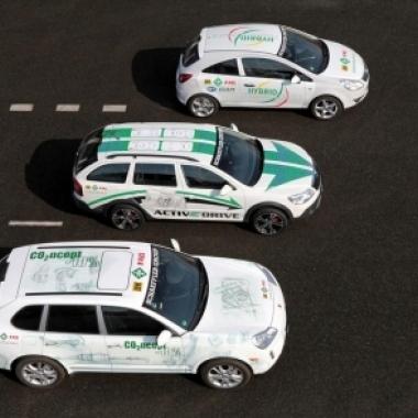 Schaeffler-Konzeptfahrzeuge CO2ncept-10%, Schaeffler Hybrid und ACTIVeDRIVE