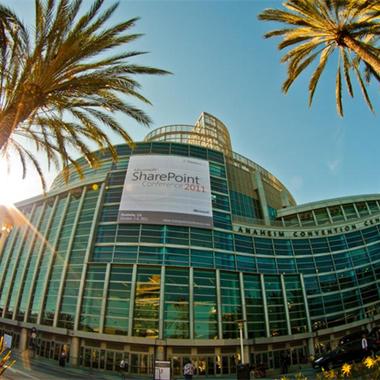 Die internationale SharePoint Konferenz in Anaheim, California