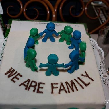 We are Family – Salamander Torte