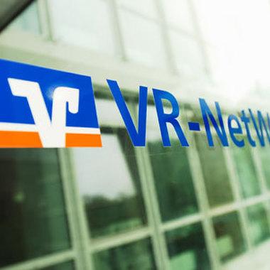 Eingang zur VR-NetWorld GmbH