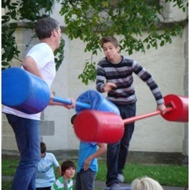 Action am Familienbrunch: Spass muss sein!