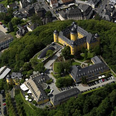 Luftaufnahme Schloss Montabaur