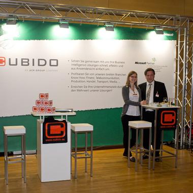 cubido Messestand beim Microsoft Big Day in Wien