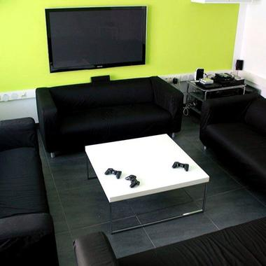 Lounge und Chill-Out-Area