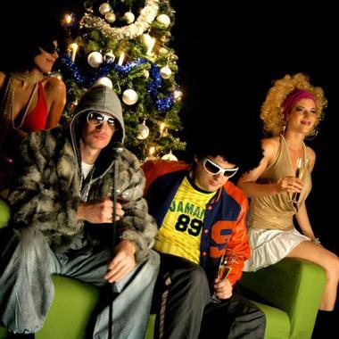 """Dreh zum Weihnachtsvideo """"PIMP"""""""