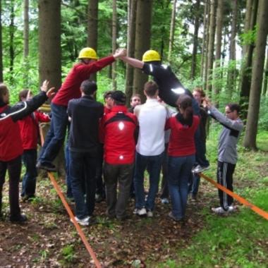 Nur gemeinsam als Team können wir erfolgreich sein - in Teamentwicklungsworkshops.