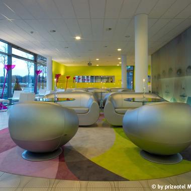 Lobby im prizeotel Bremen-City