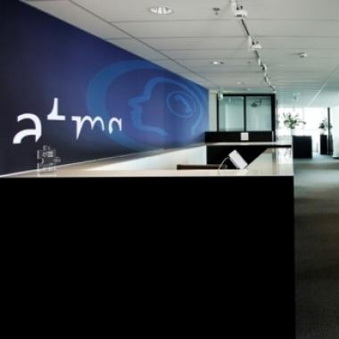 Unser modernes Büro mit seinem einzigartigen Ausblick über Wien, bietet uns ein hervorragendes Arbeitsumfeld
