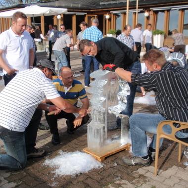 Verkaufstagung und Teambildung