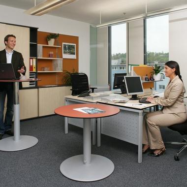 Unseren Mitarbeiterinnen und Mitarbeitern stehen Büros mit optimaler ergonomischer Ausstattung zur Verfügung.