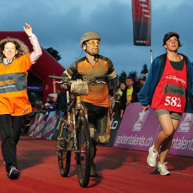 Opacc fördert Sport und Kultur: Das Gigathlon Team 2012