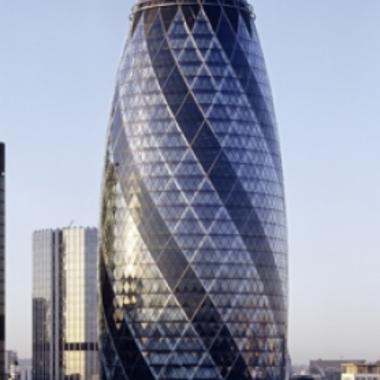 Swiss Re Gebäude in London: The Gherkin