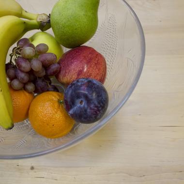Für unsere Mitarbeiter gibt es täglich frisches Obst.