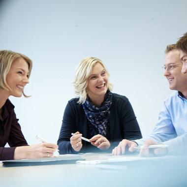 Wir arbeiten in Teams – auch abteilungsübergreifend